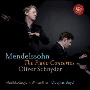 MENDELSSOHN - Piano Concertos [Oliver Schnyder] (SACD)