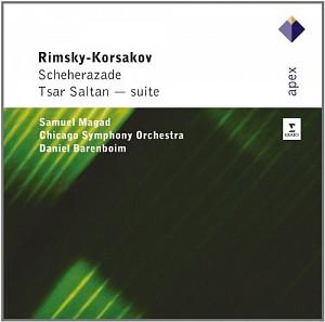 RIMSKY-KORSAKOV -  Scheherezade [Magad/Barenboim] (cd)