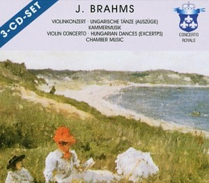BRAHMS JOHANNES - VIOLIN CONCERTO, HUNGARIAN DANCES - [cd]