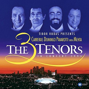 Carreras/Domingo/Pavarotti - 3 Tenors In Concert:Los Angeles1994 [HQ LP] (2vinyl)