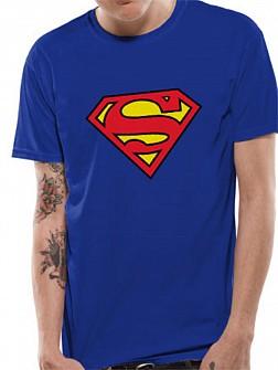 SUPERMAN - Colour Logo [blue] (tricou)