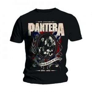 PANTERA - Anniversary Shields (tricou)