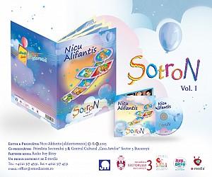Nicu Alifantis - Sotron (cd+carte)