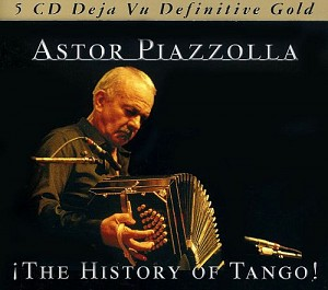 Astor Piazzolla - The History Of Tango [Boxset slipcase] (5cd)