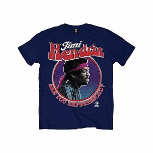 Jimi Hendrix - Are You Experienced [navy] (tricou)