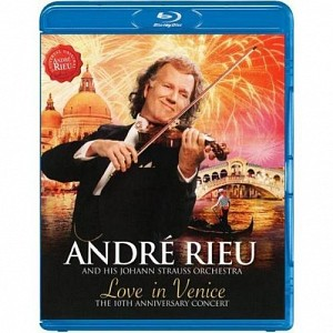 Andre Rieu - Love In Venice (blu-ray)