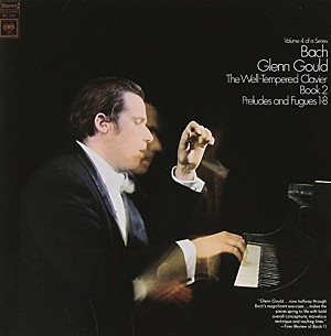 BACH J. SEBASTIAN - THE WELL TEMPERATE CLAVIER, BOOK II (G.GOULD) [cd]