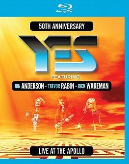 YES/Anderson Rabin Wakeman - Live At The Apollo (blu-ray)