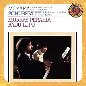 Mozart/Schubert-Sonata for two pianos/Fantasia for piano (cd)