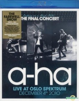 A-HA - ENDING ON A HIGH NOTE (blu ray)