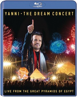 YANNI - Dream Concert:Live from the Great Pyramids of Egypt (blu-ray)