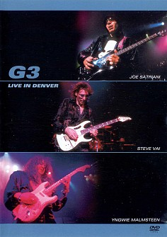 G3[Satriani/Vai/Malmsteen] - Live In Denver (dvd)