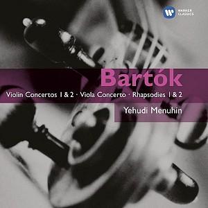 BARTOK BELA - VIOLIN CONCERTOS 1&2 (MENUHIN/BOULEZ) [cd]