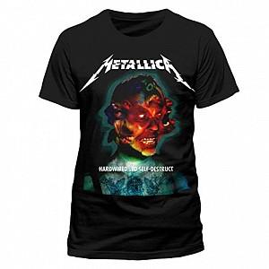 Metallica - Hardwired Album Cover L (tricou)