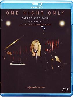BARBRA STREISAND - ONE NIGHT ONLY (Blu Ray)