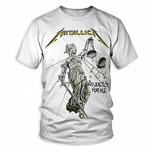 Metallica - And Justice For All [wht] (tricou)