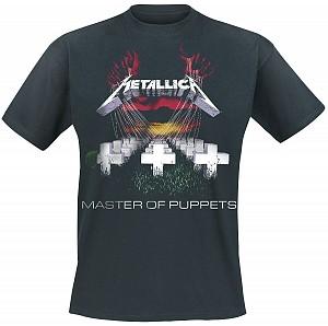 Metallica - M Master Of Puppets Tracks (tricou)