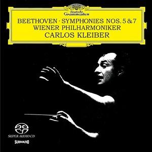 BEETHOVEN - SYMPHONIES NOS.5 & 7 (C.KLEIBER) (SACD)