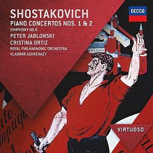 Shostakovich -  Piano Concertoc No 1&2, Symphony No 9, RPC/Ashkenazy (cd)