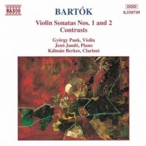BARTOK BELA - VIOLON SONATAS NOS 1 & 2 (CD)