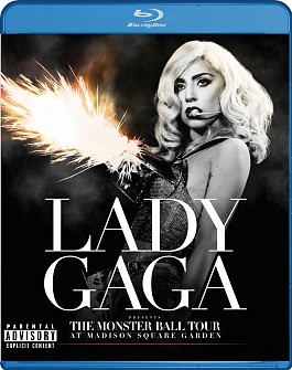 Lady Gaga - The Monster Ball Tour At MSG (blu-ray)