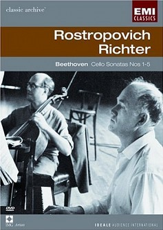 BEETHOVEN - CELLO SONATAS NOS 1-5 (ROSTROPOVICH) [cd]