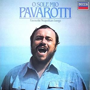 Luciano Pavarotti - O Sole Mio [LP cut-out] (vinyl)