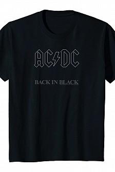 AC/DC - M Back In Black (tricou)