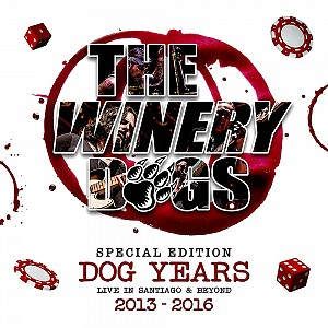 Winery Dogs - Dog Years Live In Santiago & Beyond 2013-2016 (bd+dvd+3cd)