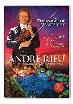 Andre Rieu - The Magic Of Maastrict:30 Years Of J. Strauss Orch (dvd)