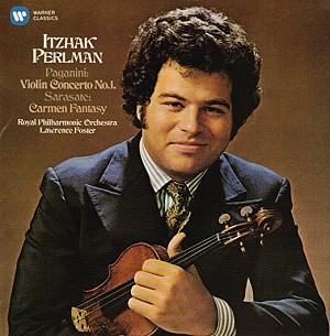 PAGANINI - Violin Concerto No.1 [Perlman] (cd)