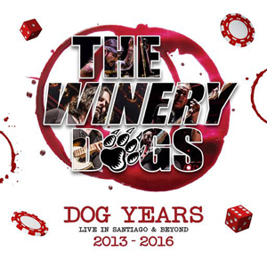 Winery Dogs - Dog Years Live In Santiago & Beyond 2013-2016 (bd+cd)