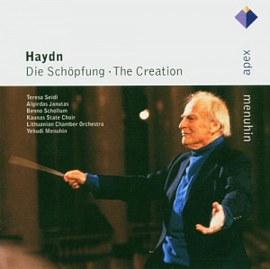 HAYDN JOSEPH - Die Schoepfung - The Creation [Menuhin - conductor] (2cd)