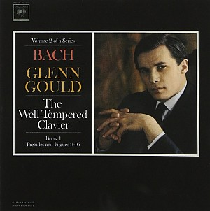 BACH J. SEBASTIAN - THE WELL TEMPERATE CLAVIER, BOOK I (G.GOULD) [cd]