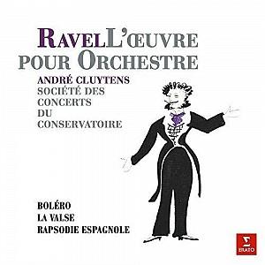 Ravel - Bolero, Rapsodie Espagnole, La Valse [Cluytens] [LP] (vinyl)