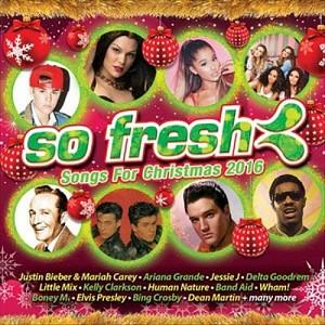 Various Artists - So Fresh: Songs For Christmas 2016 (2cd)