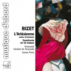 GEORGES BIZET - L'ARLESIENNE SYMPHONIE EN UT MAJOR (PONS) - [cd]