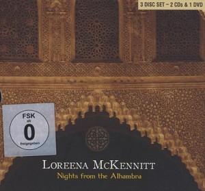 LOREENA McKENNITT - Nights From The Alhambra (2cd+dvd)