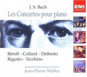 BACH J. SEBASTIAN - PIANO CONCERTOS=BOX= [cd]