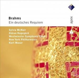 BRAHMS JOHANNES - Requiem [Masur/NYP] (cd)