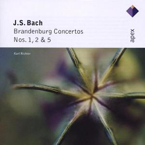 BACH J. SEBASTIAN - Brandenburg Concertos 1,2 & 5 [Richter Karl] (cd)