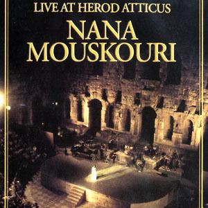 NANA MOUSKOURI - Live At Herod Atticus (dvd)