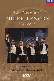 Carreras/Domingo/Pavarotti - The Original 3 Tenors in Concert:Roma 1990 (dvd)