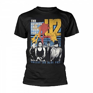 U2 - Black Bullet The Blue Sky (tricou)