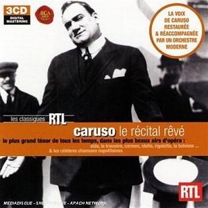 CARUSO ENRICO - Le recital reve [Boxset] (3cd)