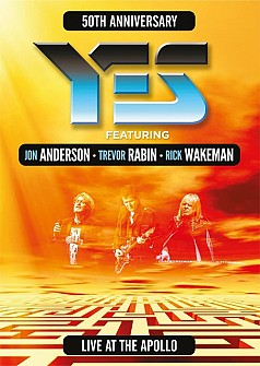 YES/Anderson Rabin Wakeman - Live At The Apollo (dvd)