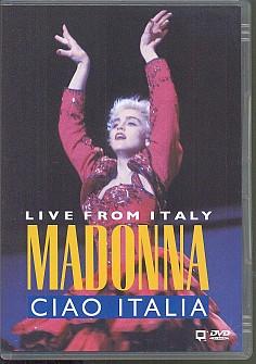 Madonna - Ciao Italia: Live From Italy (dvd)