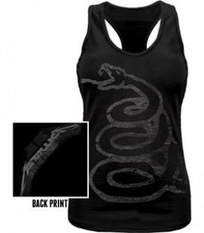 METALLICA - Black album Burnished Vest (maiou fete)