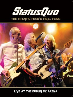 STATUS QUO - Frantic Four's Final Fling - Live At The Dublin O2 Arena (dvd)