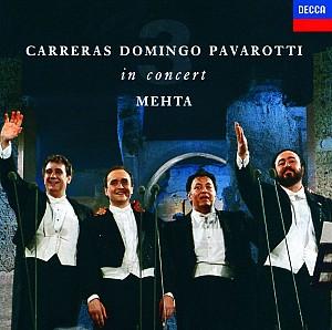 Carreras/Domingo/Pavarotti - 3 Tenors In Concert Roma 1990 [remastered] (Cd)